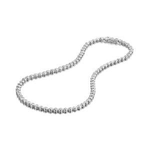 Zilveren halskettingen